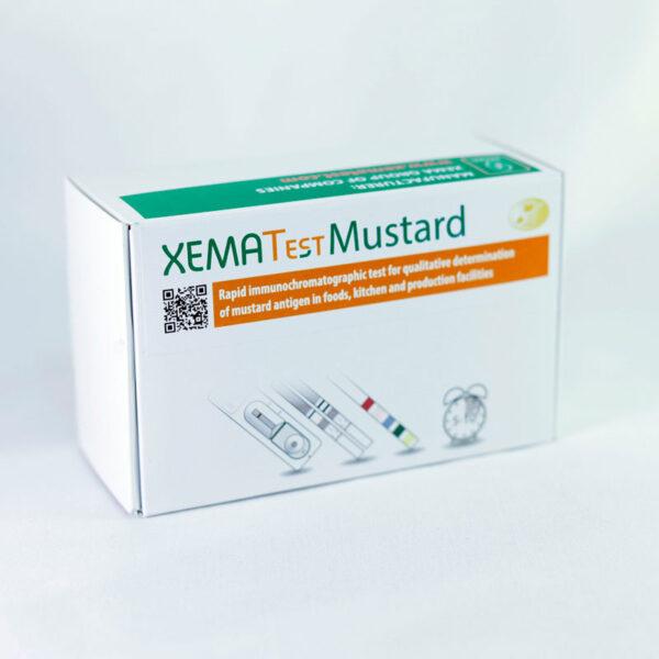 XEMATest MUSTARD Antigen Rapid Immunochromatographic Test